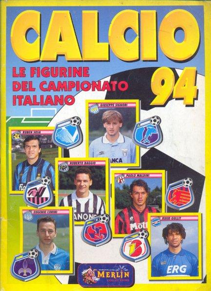 CALCIO FLASH /'94 Lampo Figurina-Sticker G LENTINI ITALIA -New